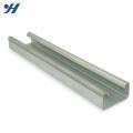 Fábrica de alta qualidade Fornecer canal unstrut com fenda, canal de aço estrutural