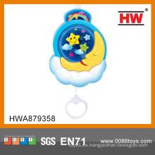 Alta calidad plástico musical bebé cuna juguetes