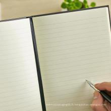 Carnet de notes à couverture rigide pour impression professionnelle