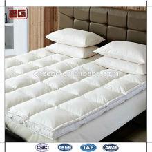 Hecha de fábrica de alta calidad de ganso suave colchón de masaje Topper