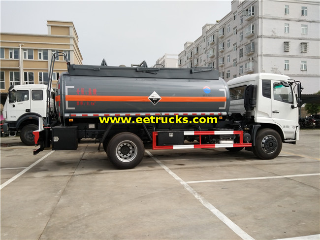 Dongfeng Glacial Acetic Acid Tank Trucks