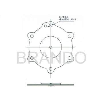ASCO-Pulse Ventil SCG353A050 Repair Kit Membran