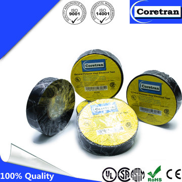 Black PVC Insulation Masking Tape for Antenna Active Film Car Antenna High Gain Active