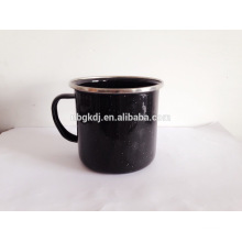 enamel coated mugs of hot selling & milk and coffee cups
