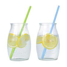 Соломы для бумаги простого цвета Eco рециркулированные напечатанные бумажные соломинки для питья, оптовая Eco биоразлагаемая бумага для питья