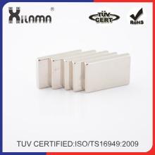Kundengebundener Permanentmagnet Neodym-Magnet-Seltenerdmotor-Magneten N52