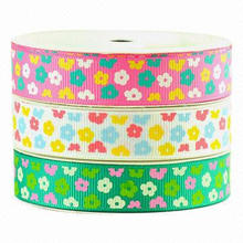 Profusion Flowers Printed Ribbons