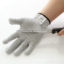 Long serve life 100% cut resistant fiber cheap work gloves