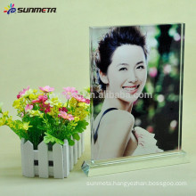 blank crystal photo frame for sablimation printing made in china hot sale
