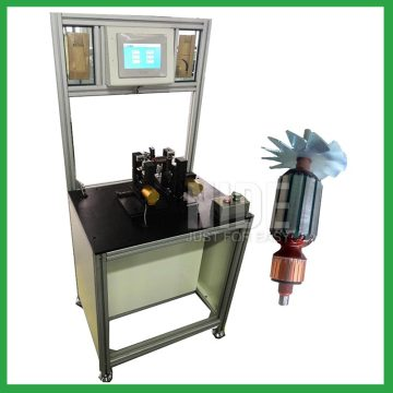 High efficiency customized motor armature balancing equipment rotor testing machine