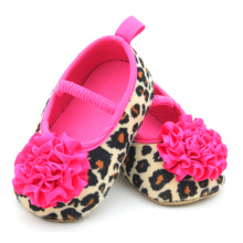 Wholesale Fancy Leopard Little Baby Dress Shoes