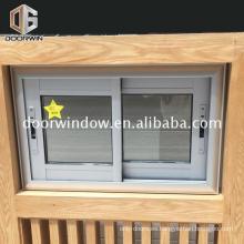 Accesorios de aluminio corredera ventana de bloqueo de aluminio vertical