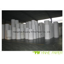 Высокое качество Покрынная доска Белая Двухшпиндельная бумага с задней частью серого цвета