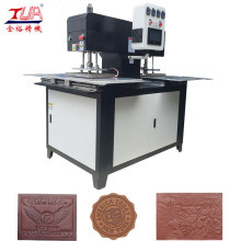 Hydraulic Emboss Machine for Fabric Logo