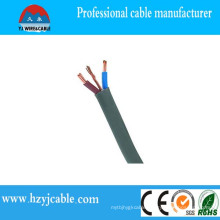 Flat Electrical Wire Copper Conductor Flat PVC Insulated Wire
