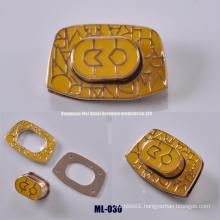 Coloring Lock, Alloy Accessories for Handbags
