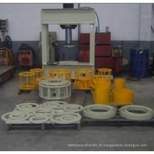 Imprensa contínua do pneumático da empilhadeira contínua da máquina da imprensa do pneu de 80t 120t 160t 200t