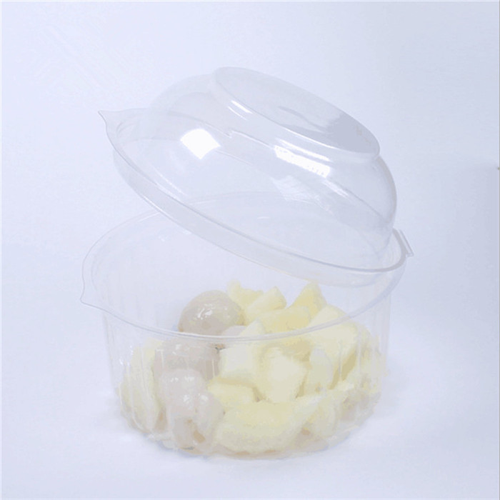 Clamshell Plastic Durian Box