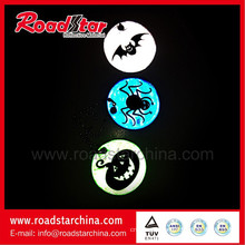 Excellent printing promotional reflective pendants, popular student accessories