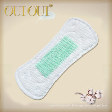 Natural Negative Ions Breathable Absorbent Panty Liners With Wingless