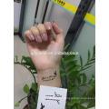Single color body tattoo sticker manufacturer