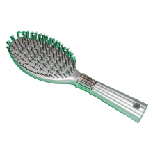 HB-031 Plastic Handle Salon & Household Hair Brush Hair Dryer Brush Hair Straightening Brush