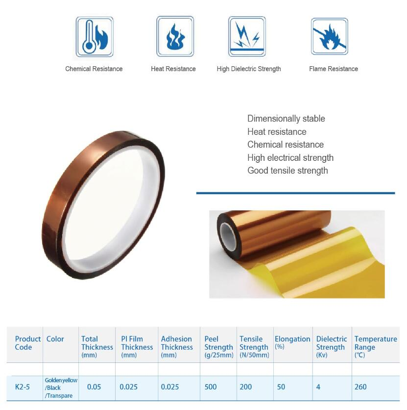 KAPTON ADHESIVE TAPES