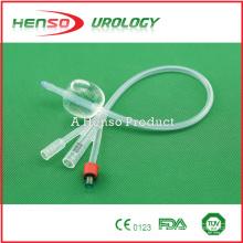 Catéter estándar Foley de silicona de 3 vías (3 vías)