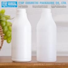 QB-BA500 32/410 standard cou dur et recyclable hdpe rond de bouteille en plastique de 500ml
