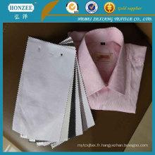 100% coton tissu de chemise