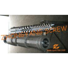 Zyt421 Конический двойной винт и цилиндр для листового ПВХ