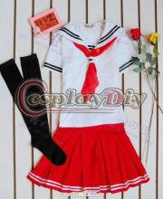 Cheap adult beautiful red japanese girls high school uniforms