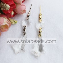 Flower Holder 24*40mm Crystal Beaded Lighting garland Drop