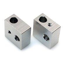 High precision CNC Machining Aluminum Heater Block