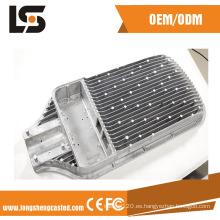 Personalizado de aluminio a presión fundición para piezas de iluminación LED