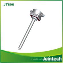 Sensor de nivel de combustible de indicador de combustible de alta precisión para tanques de aceite Solución de monitoreo de combustible contra combustible antirrobo Jt606X