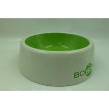 Tazón de alimentación de cerámica para perro y gato