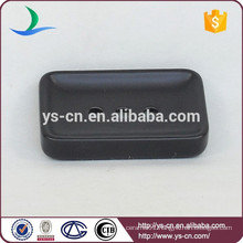 YSb50085-03-sd new pattern black ceramic soap dish product