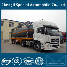 Clw 20/30 / 40 / 45FT ISO Tank Container Semi Trailer