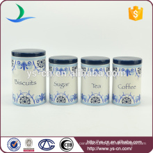 Manufacturer Wholesale ceramic Kitchen food ceramic food storage container