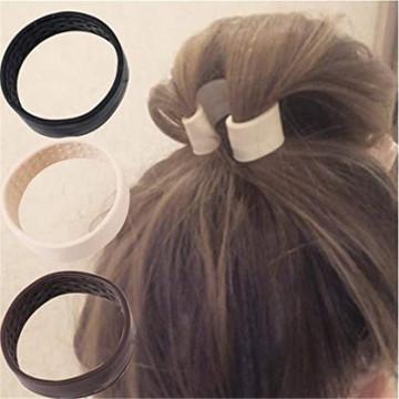 Изготовленная на заказ силиконовая складная стационарная эластичная резинка для волос