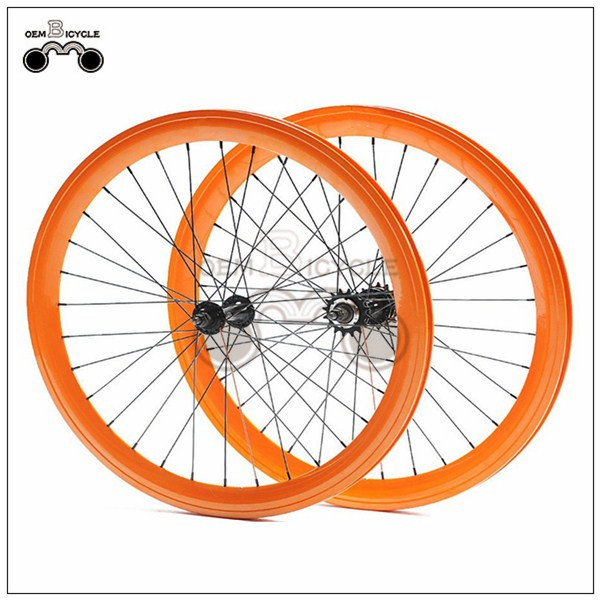 650C 45mm fix double-walled aluminum wheelset3