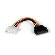 PC IDE 4pin macho a cable de alimentación hembra SATA 15pin
