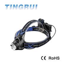 T6 перезаряжаемые высокой мощности перезаряжаемый привело 1800 люмен головной фонарь