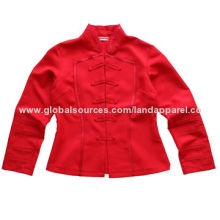 Hotel uniform jacket made of twill 100% polyester