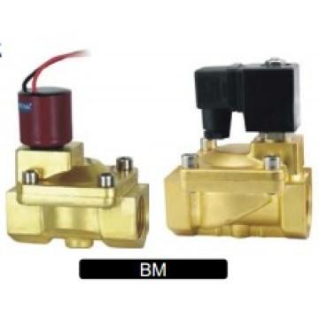 Válvula de solenoide serie BM Válvula de latón Válvula de acero inoxidable