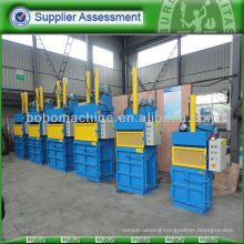 Second-hand plastic packing and baling machine