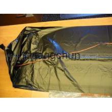 PE plastic trash bag with string