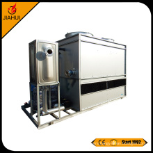 mixed flow series closed cooling tower