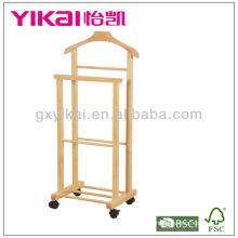 Soporte de madera maciza